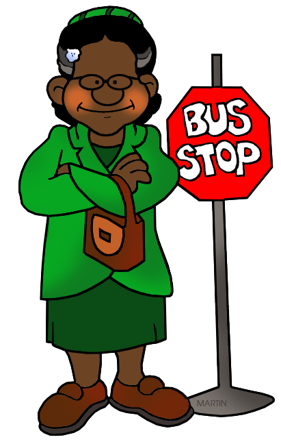black history month clip art by phillip martin rosa parks rh blackhistory phillipmartin info Martin Luther King Clip Art rosa parks bus clipart
